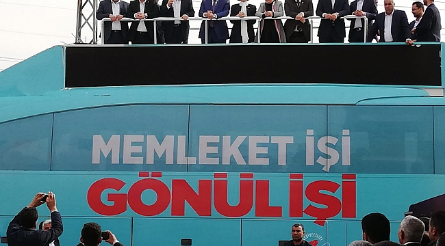 AKPINAR'DA BİNİCİL AŞİRETİNİN MİTİNGİ SOKAKLARA SIĞMADI
