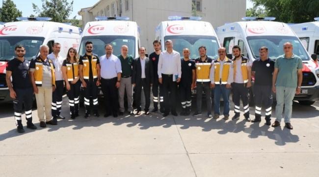 Sağlık Bakanlığından Urfa'ya Tam Donanımlı Ambulans