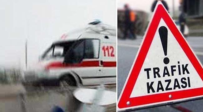 Urfa – Diyarbakır karayolunda kaza: 5 yaralı