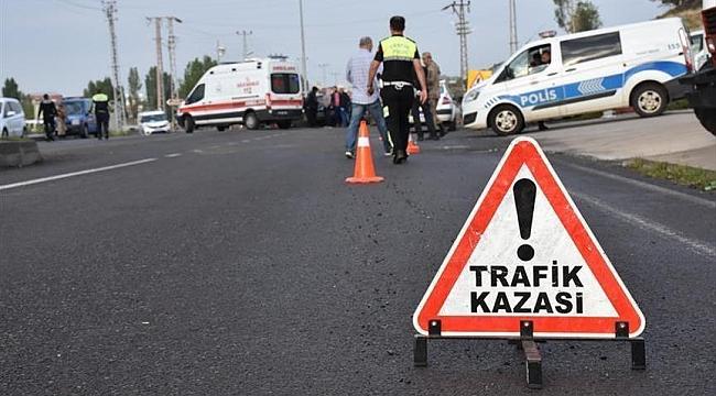 Urfa – Diyarbakır Karayolunda Kaza: 2 Yaralı