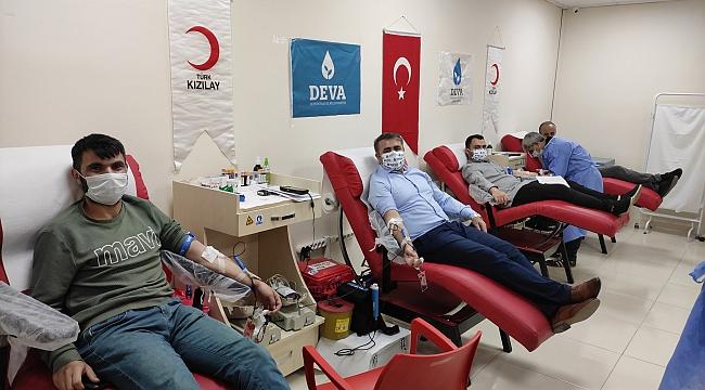 """""""Kanınız DEVA Olsun"""" kan bağışında ikinci dönem"""