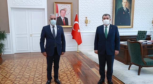 Şehir hastanesi için Ankara'da sürpriz görüşme!