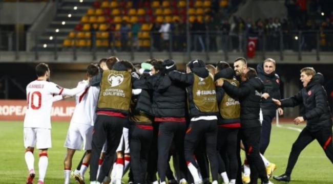 A Milli Takımı son nefeste! Letonya: 1 - Türkiye: 2
