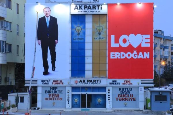 AK Parti Şanlıurfa yönetiminde başkan değişti
