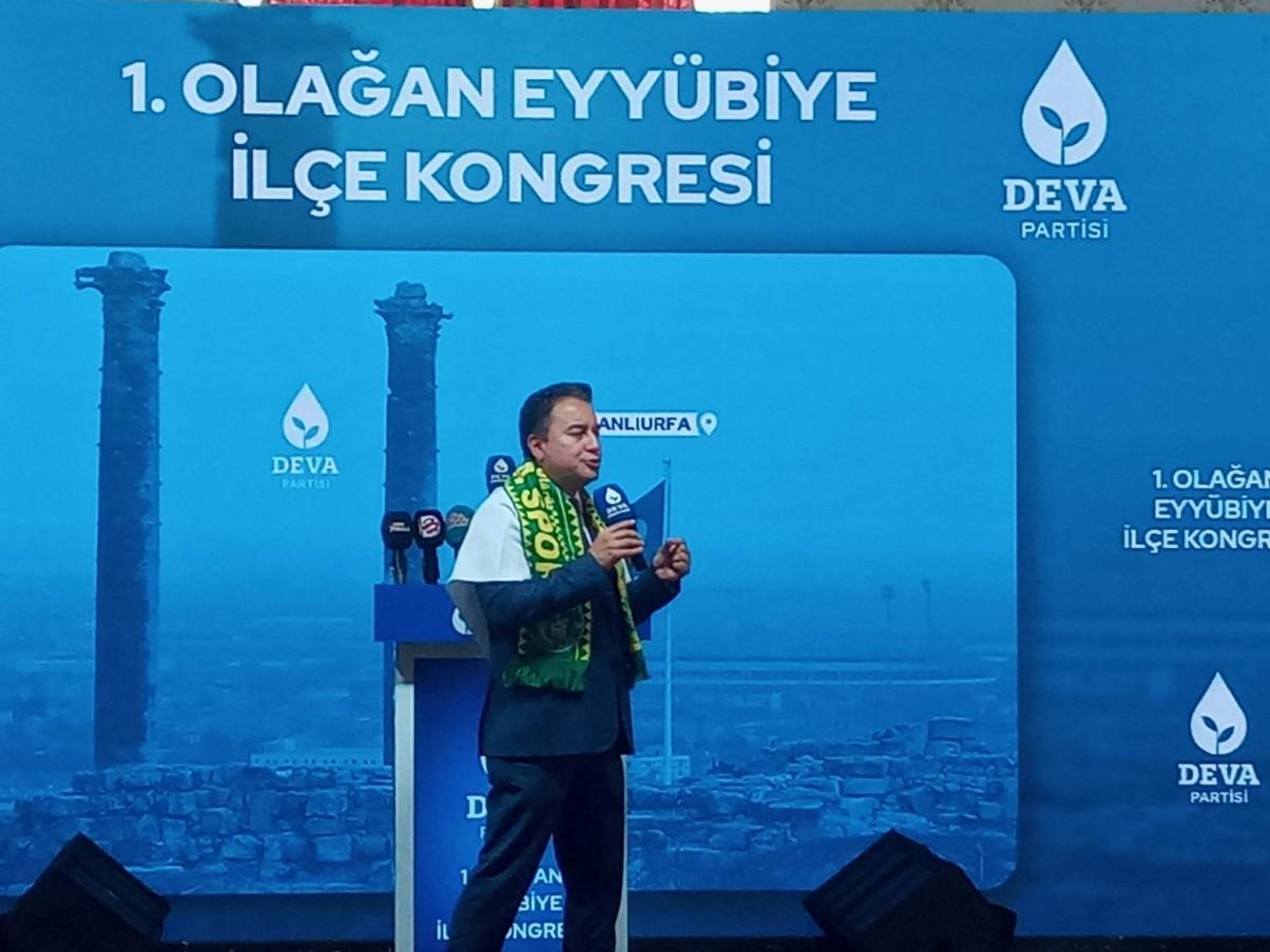 DEVA Genel Başkanı Babacan: