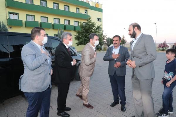 Başkanlardan Şanlıurfaspor'a ziyaret