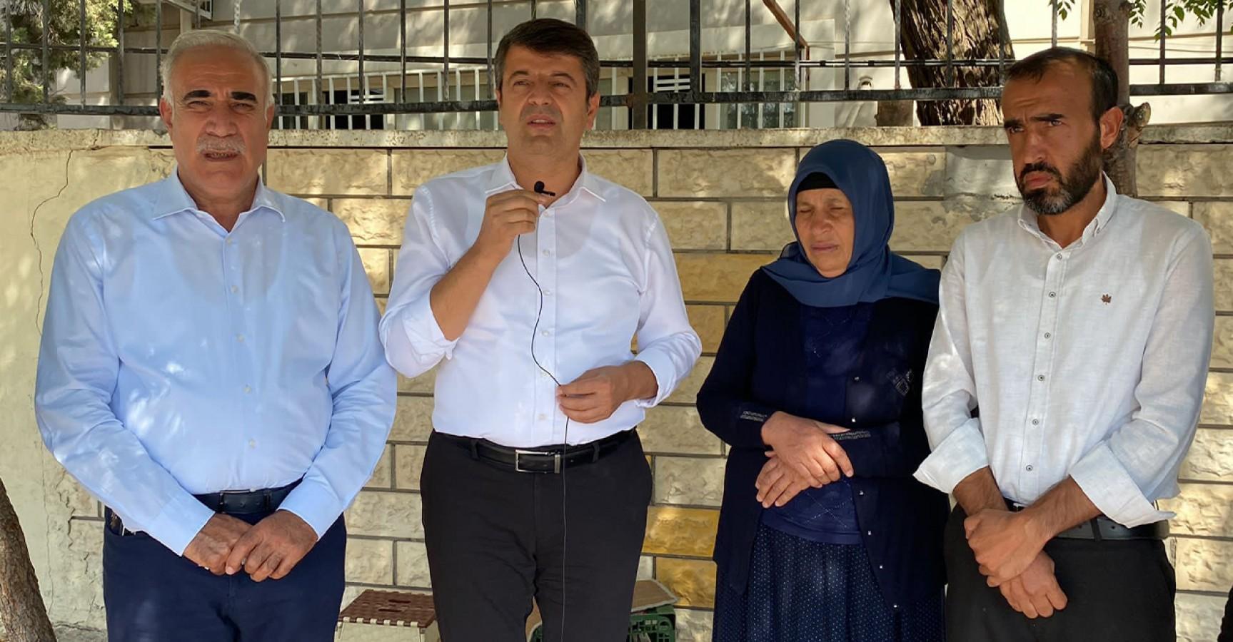 CHP'li vekillerden Şenyaşar ailesine ziyaret