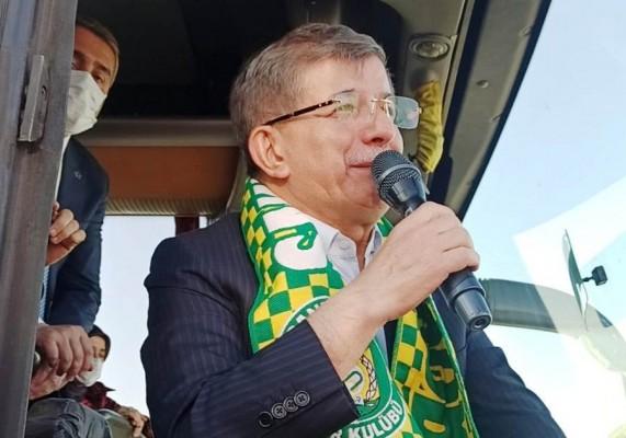 Gelecek Parti lideri Davutoğlu Şanlıurfa'ya geldi