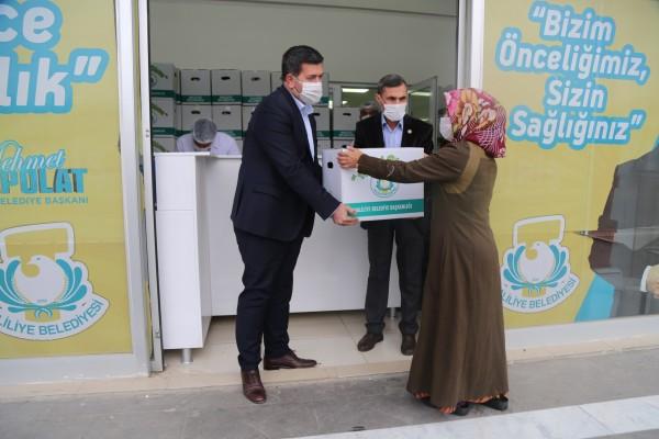 Haliliye'den çölyak hastalarına gıda kolisi desteği
