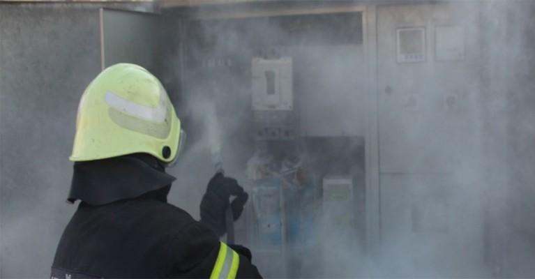 Haliliye'de elektrik panosunda çıkan yangın korkuttu
