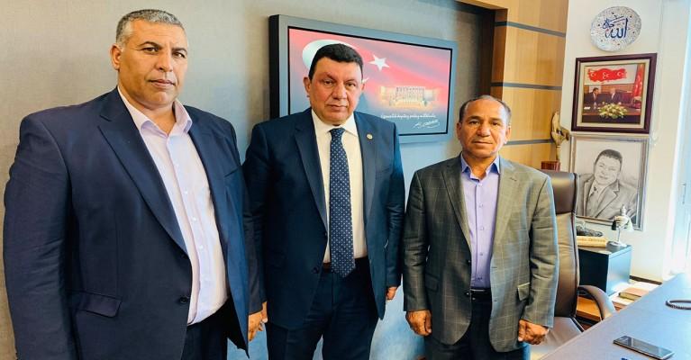 Harran'da teşkilat başkanı istifa etti