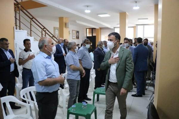 İl Başkanı Kırıkçı'dan, Ceylanpınar çıkarması