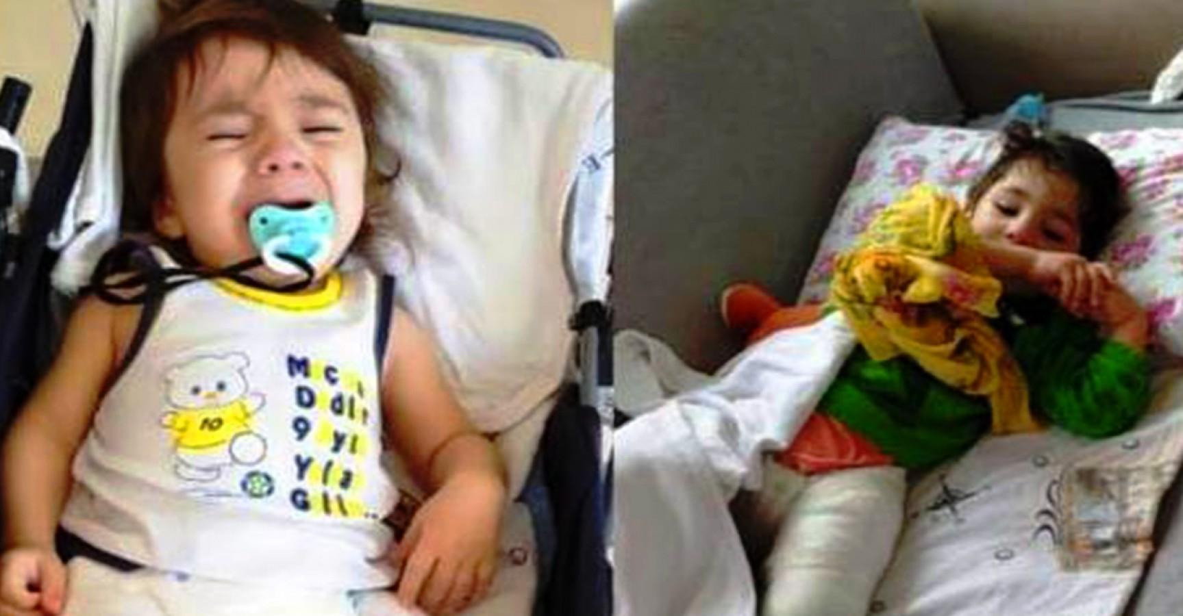 Şanlıurfa'da cam kemik hastası kardeşler yardım bekliyor