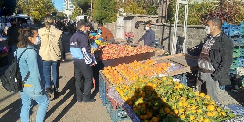Şanlıurfa'da kurulacak pazar yerleri belli oldu