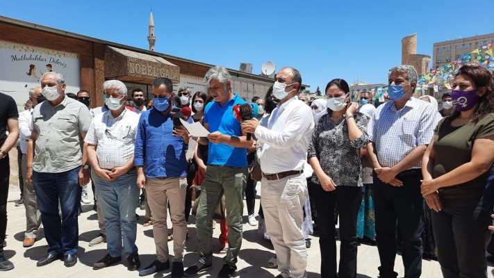İzmir'deki saldırıya Şanlıurfa'dan sert tepki