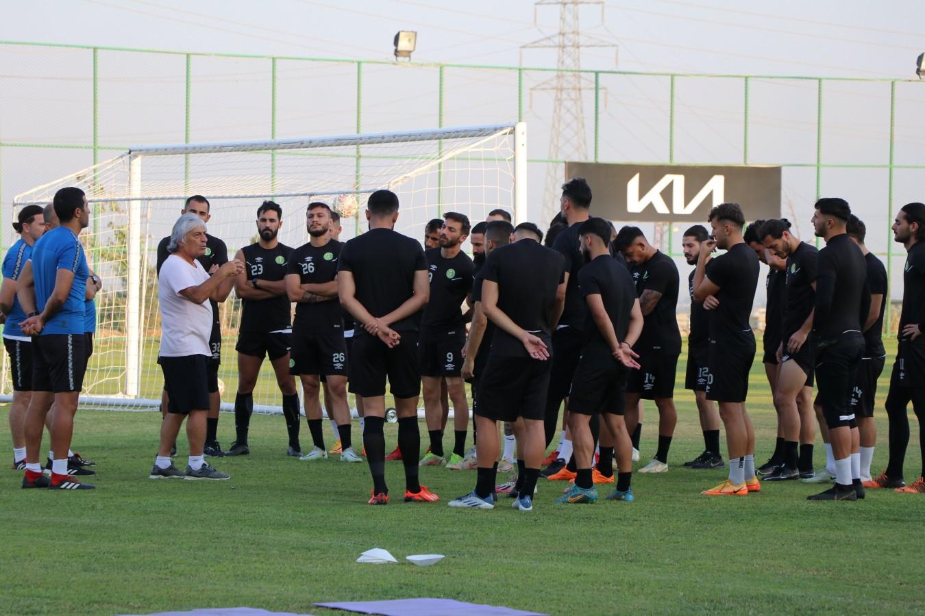 Şanlıurfaspor Amedspor maçına hazırlanıyor