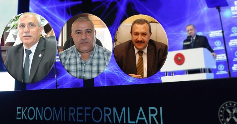 Urfa'da STK başkanları ekonomi reformlarını değerlendirdi